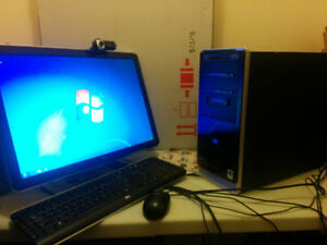 """HP Pavilion w. 22"""" Monitor Webcam - Collingwoood, ON or Delivery"""