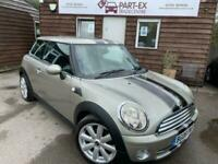 2008 MINI Hatch 1.6 Cooper 3dr Hatchback Petrol Manual