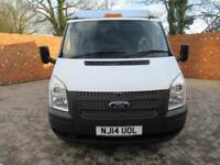 FORD TRANSIT 350 ONE WAY TIPPER MWB 125 BHP NEW CHIPPER BOX TOOL BOX