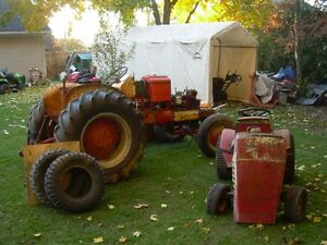 Sears old ST 16 yard tractor with snowbler. Kitchener / Waterloo Kitchener Area image 2
