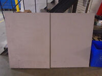 Folding white board + overhead screen - 6ft x 4ft x 3in Wide London Ontario Preview