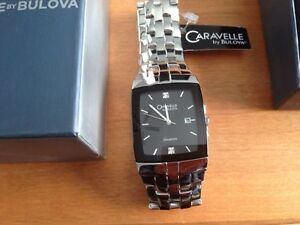 men's Caravelle Diamond Bulova Watch London Ontario image 1