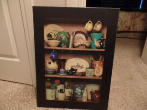 Very Nice MEDALTA POTTERIES PICTURE ~ AS NEW ~ $15.00