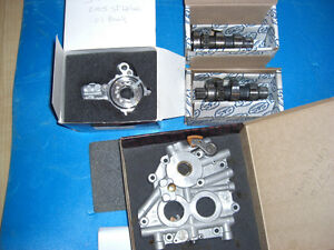 Softail Deluxe Stock cams, cam plate and oil pump