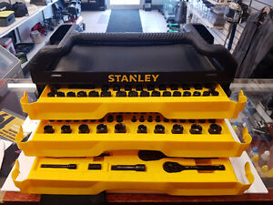 Stanley Tool Box Socket Set, 203-pc
