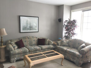 Complete Family Room Couch Set