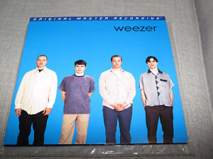 Weezer Blue Album Mobile Fidelity Audiophile Record blue vinyl
