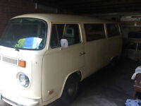 1978 VW Bus Camper rebuild project