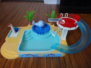 Famille avec piscine Playmobil 5433