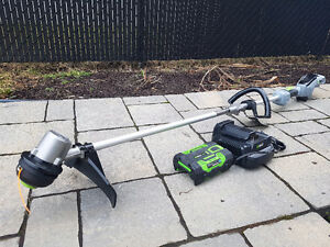 EGO 56V 15'' string trimmer coupe bordure weed eater Cond A+++++