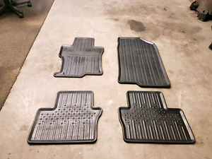 Honda Accord all weather rubber floor mats