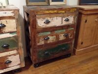 Commode style reclaimed