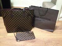Louis Vuitton brown medium with purse