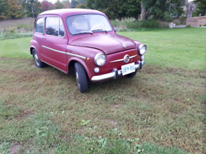 RARE FIAT 600 IN TOP CONDITION! WON'T LAST LONG!