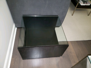 MODERN Glass-Top Side Table / End Table / Coffee Table