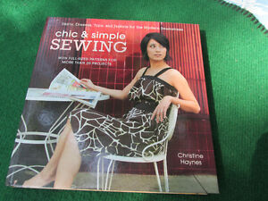 Sewing book + patterns Chic & Simple