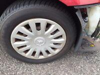 175 65 14 tyres on Citroen c2 steel wheels