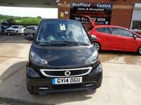 2014 14 SMART FORTWO 1.0 GRANDSTYLE EDITION 2D 84 BHP