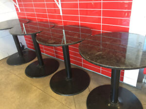 Granite patio tables