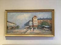 Oil on Canvas by Burnett