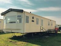Taking bookings from September onwards in our platinum grade caravan at Crimdon dene