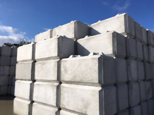 Concrete barrier blocks + Jersey barriers delivered to your site