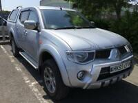 BAD CREDIT FINANCE AVAILABLE 2010 / 59 reg Mitsubishi L200 2.5DI-D 4WD