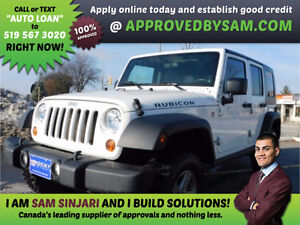 WRANGLER UNLIMITED RUBICON - Bad Credit? GUARANTEED APPROVAL.