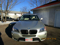 2013 BMW X3 Beige Nevada Leather SUV, Crossover