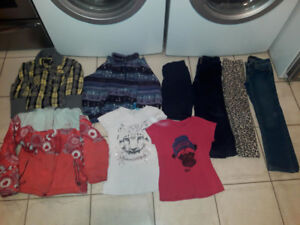 lot de linge pour fillette