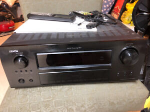 Denton receiver AAVR 2809 7.1 channel, with remote