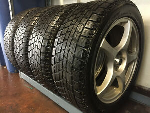 Used 225/50R17 Blizzak Winter tires on alloys for sale