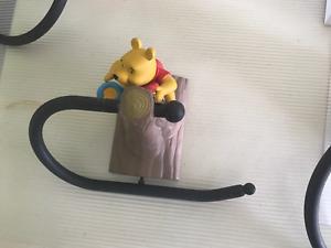 Kids bathroom decor - Winnie the Pooh