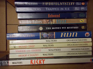 12 Eric Walters books-High interest reading books London Ontario image 2