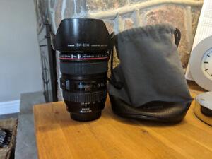 Canon EF 24-105 mm F4 L lens