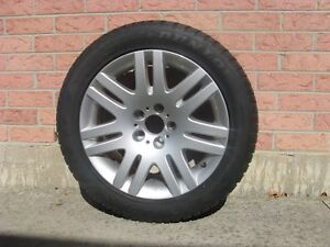 Rim and tire 245/50 R18 DUNLOP