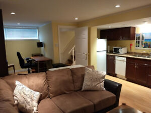 Basement Apartment in Waterdown - Furnished
