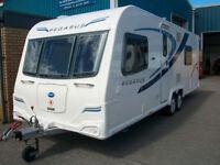 Bailey pegasus twin axle fixed bed bologna 4 berth
