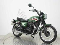 KAWASAKI W800 STREET : Custom Paint Scheme ,Pre Reg, PDI mileage