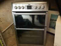 Beko free standing electric double oven