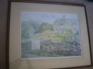 "Peter Etril Snyder - "" Garden Gate "" -  Limited Edition Print Kitchener / Waterloo Kitchener Area image 1"