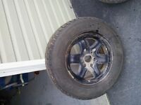 for sale 245/70/17 winter tires on gmc acadia rims