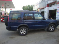2000 Land Rover Discovery Series ii winter tires