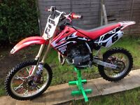 Honda cr 85 big wheel fully rebuilt