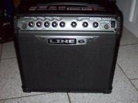 Line 6 Spider III 15 Watt Guitar Combo Black Amplifier