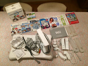 Nintendo Wii, recharge, 6 jeux