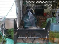 19.5Hp Lawn tractor with Snow Blower Attachment
