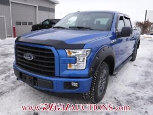 2016 FORD F150 XLT SUPERCREW SWB 5.0L XLT