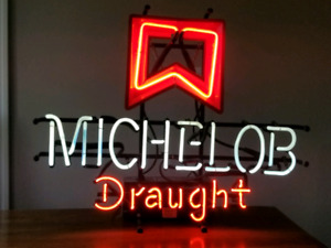 MICHELOBE NEON BEER SIGN