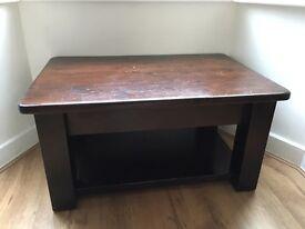 Mahogany Oak Coffee Table